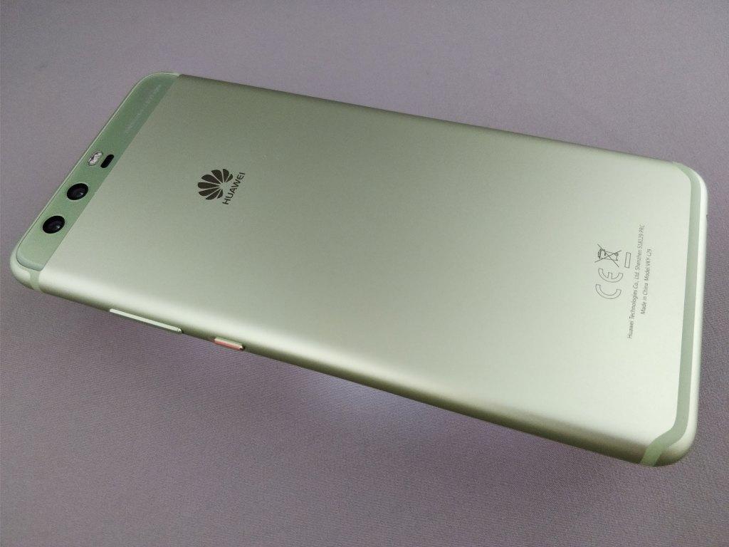 Huawei P10 Plus 裏 斜め上