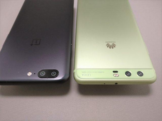 Huawei P10 Plus 他機種とサイズ比較 2