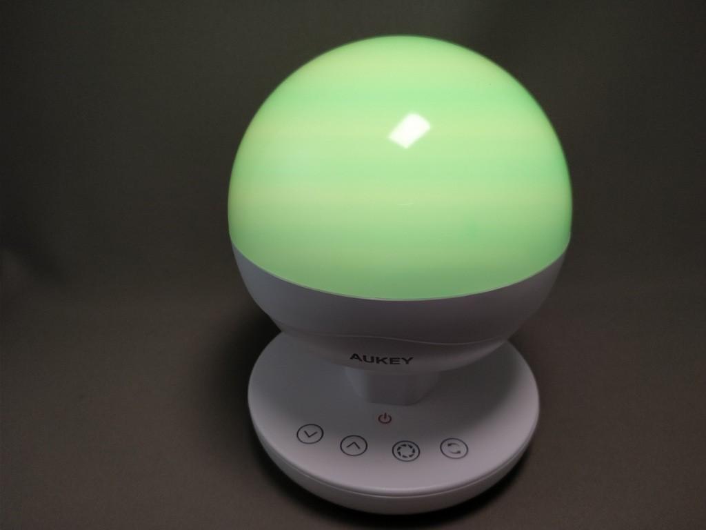 Aukey LEDデスクランプ LT-ST10 LED色1