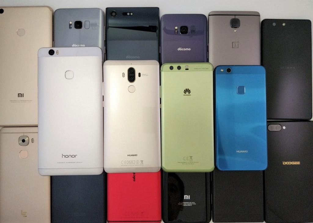 Huawei 4機種