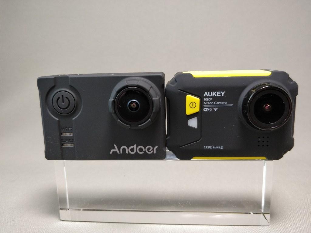Aukeyアクションカメラと比較