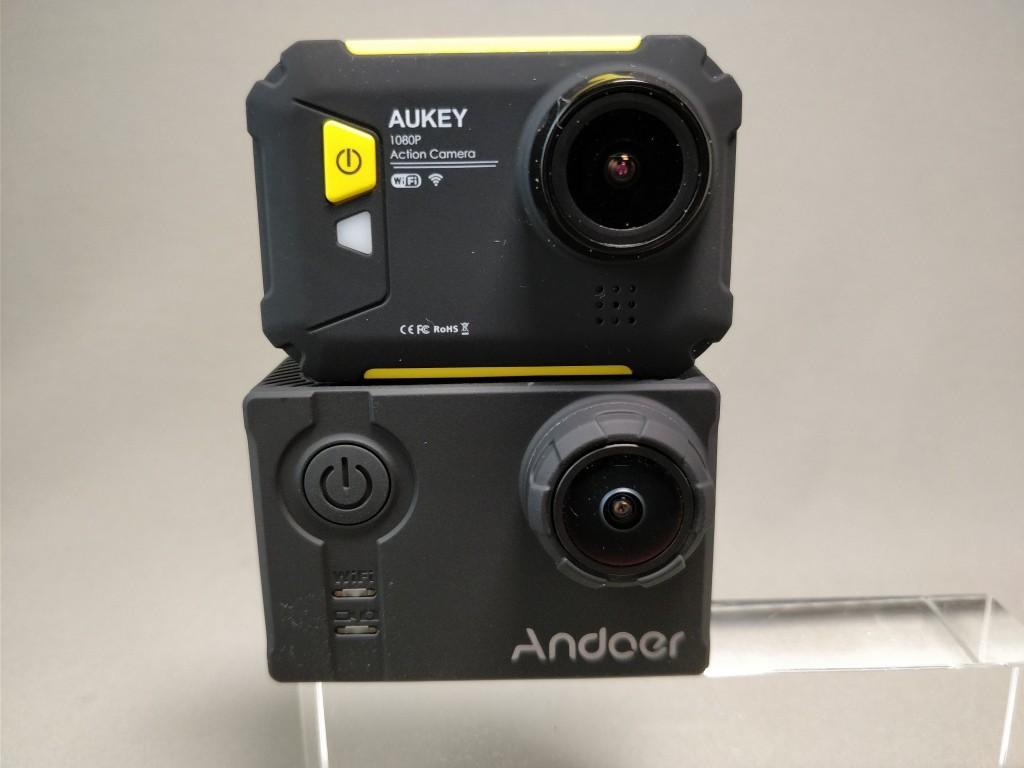 Aukeyアクションカメラと比較 6