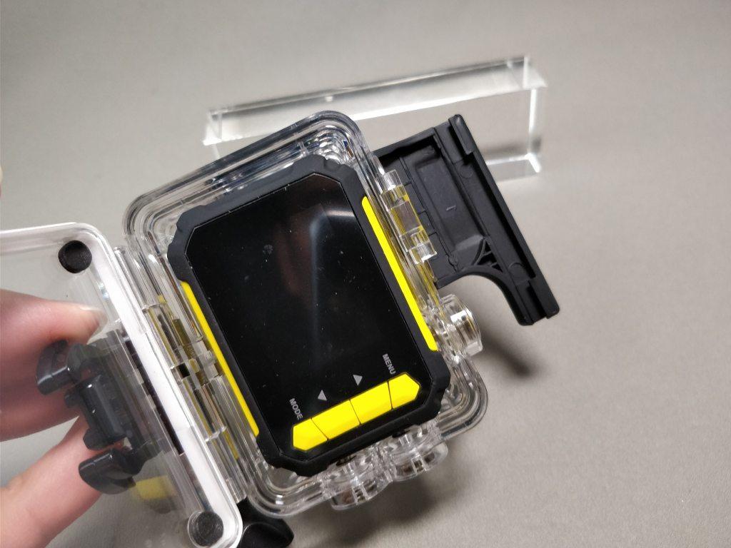 Aukeyアクションカメラと比較 防水ハウジング 5
