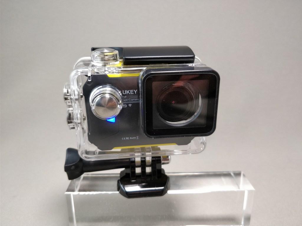 Aukeyアクションカメラと比較 防水ハウジング 4