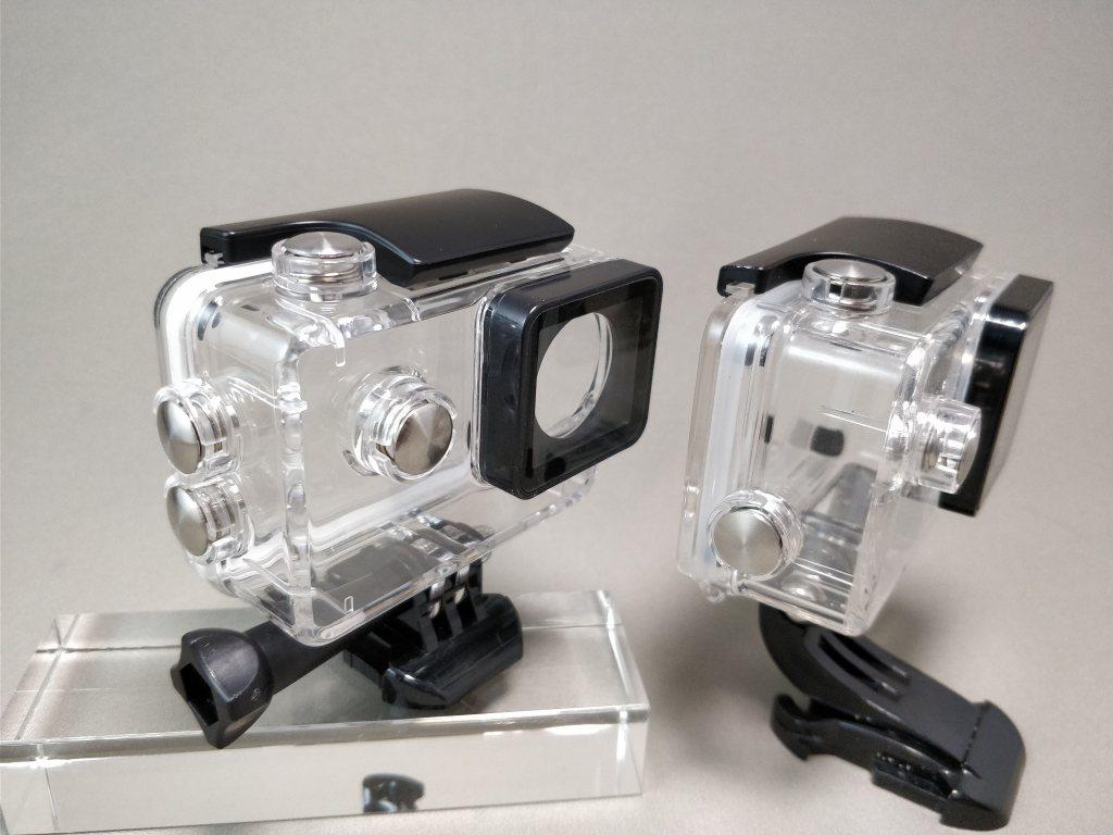 Aukeyアクションカメラと比較 防水ハウジング 1