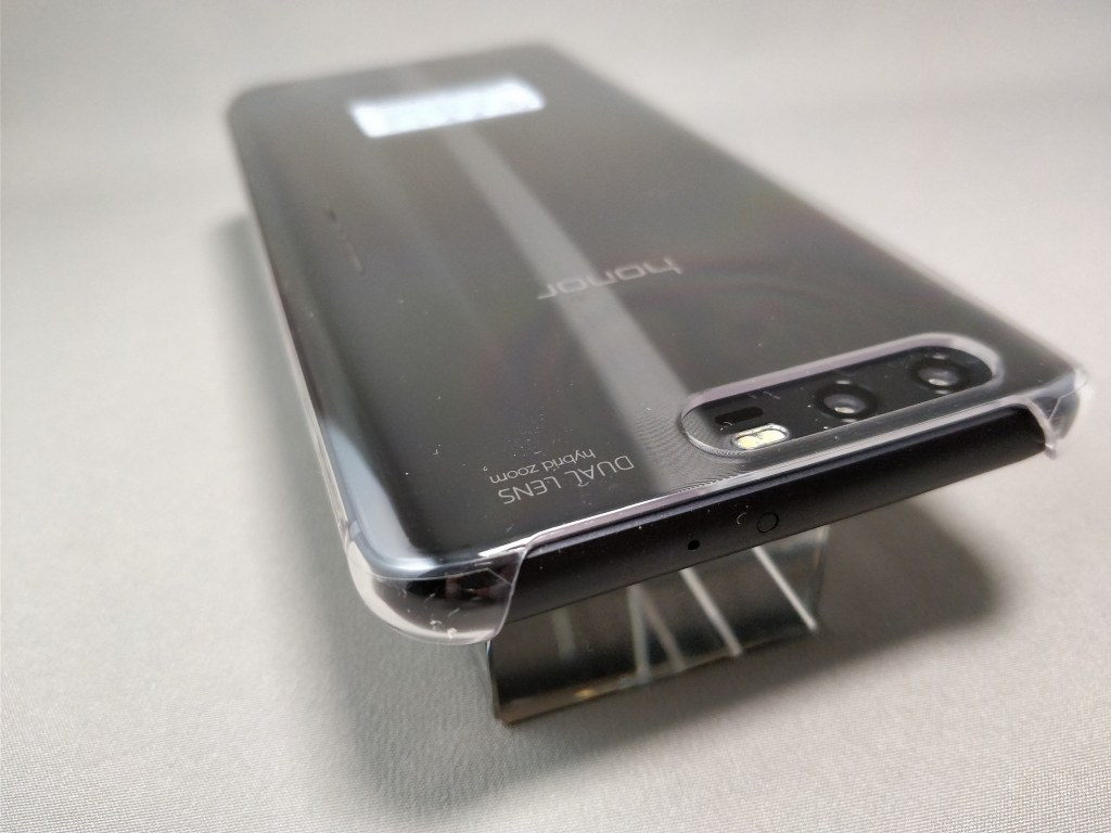 Huawei Honor 9 保護ケース装着 上
