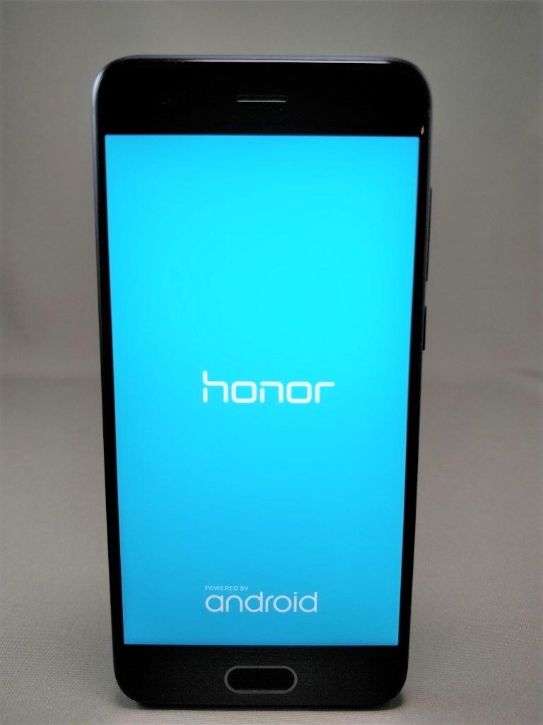 Huawei Honor 9 起動1