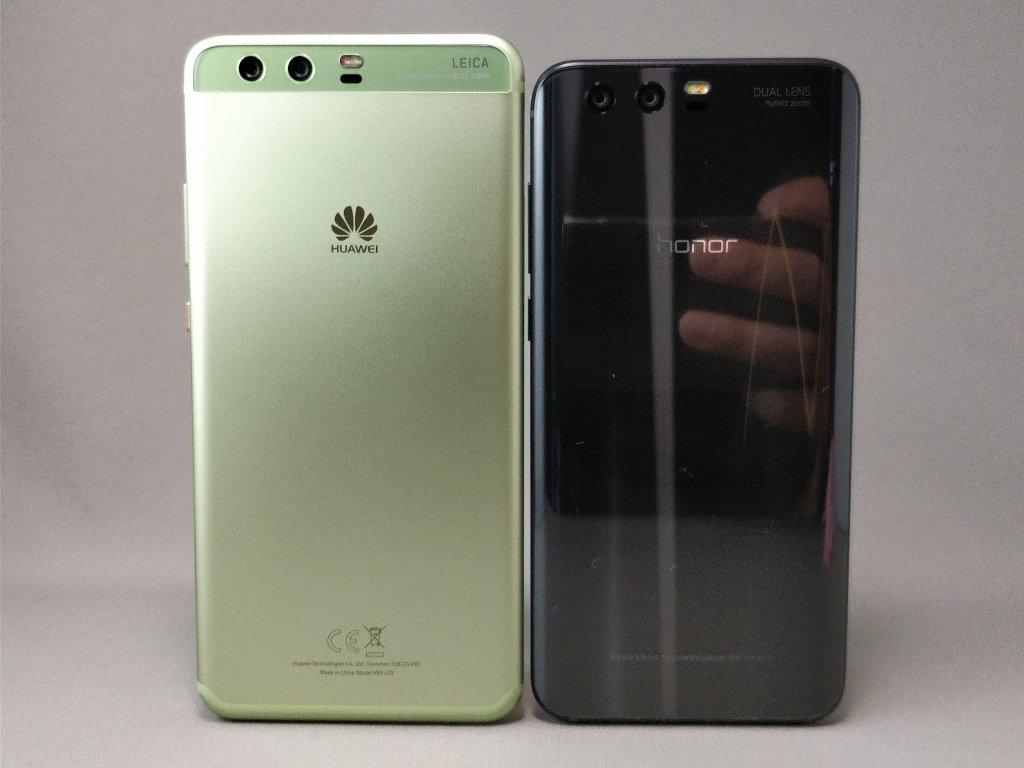 Huawei P10 Plus & Huawei Honor 9 裏