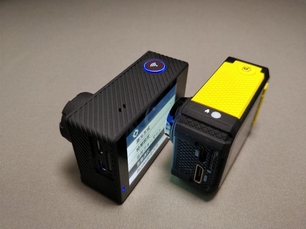 Aukeyアクションカメラと比較 3