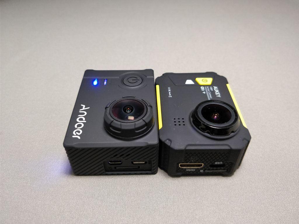 Aukeyアクションカメラと比較 2