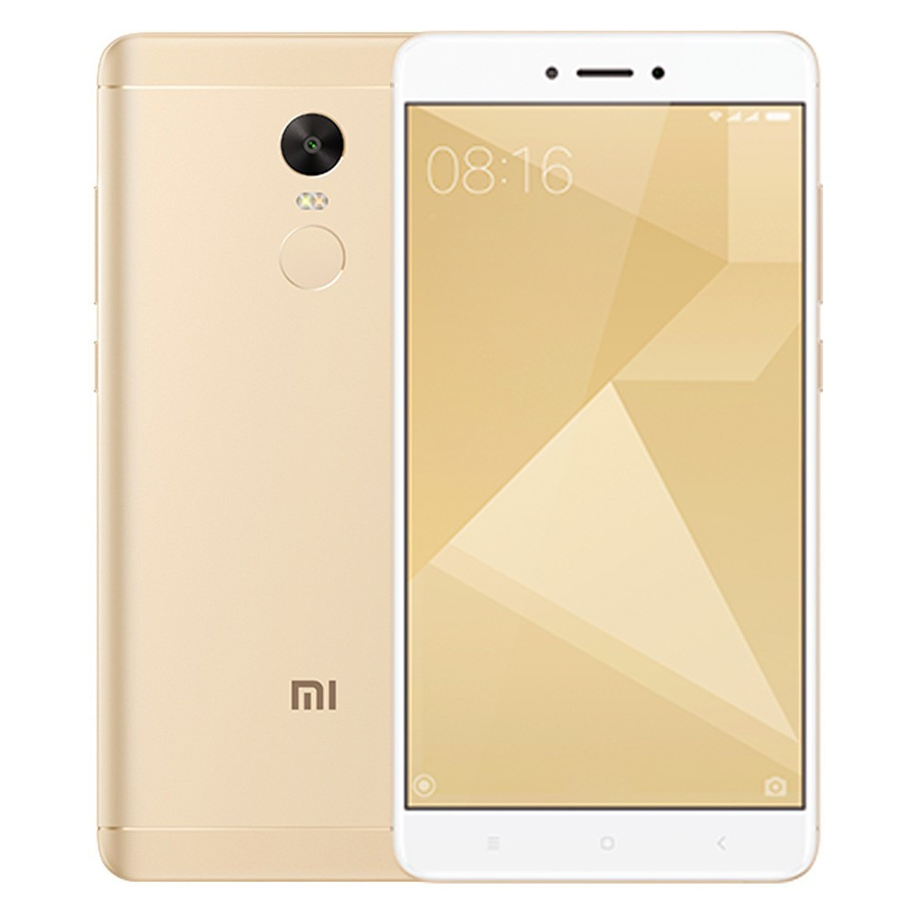 tomtop Xiaomi Redmi Note 4X Snapdragon 625 MSM8953 2.0GHz 8コア,MediaTek Helio X20 2.3GHz Deca Core GOLD(ゴールド)