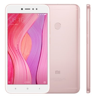 gearbest Xiaomi Redmi Note 5A Snapdragon 435 MSM8940 1.4GHz 8コア ROSE GOLD(ローズゴールド)