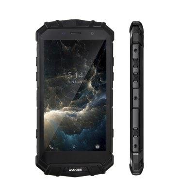 gearbest DOOGEE S60 MTK6757T Helio P25 2.5GHz 8コア BLACK(ブラック)