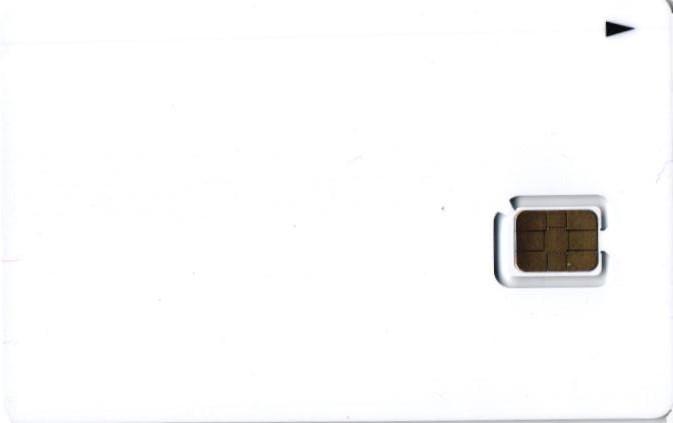 QTモバイル SIMカード 裏