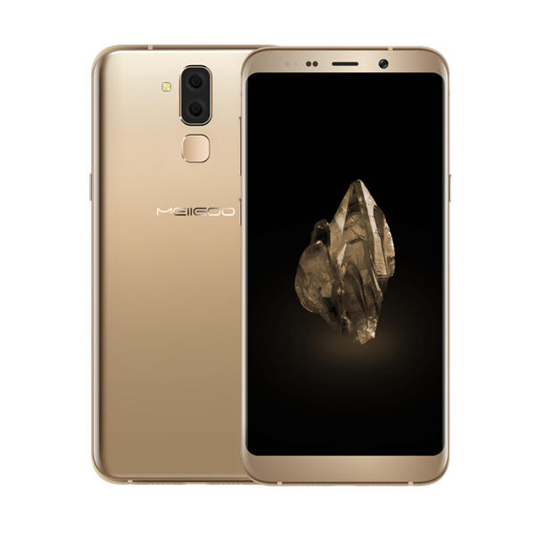 Meiigoo S8 MTK6750T 1.5GHz 8コア GOLD(ゴールド)