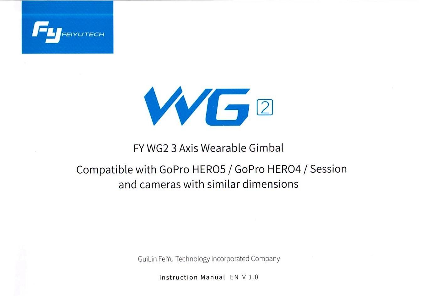 Feiyu WG2 取説1