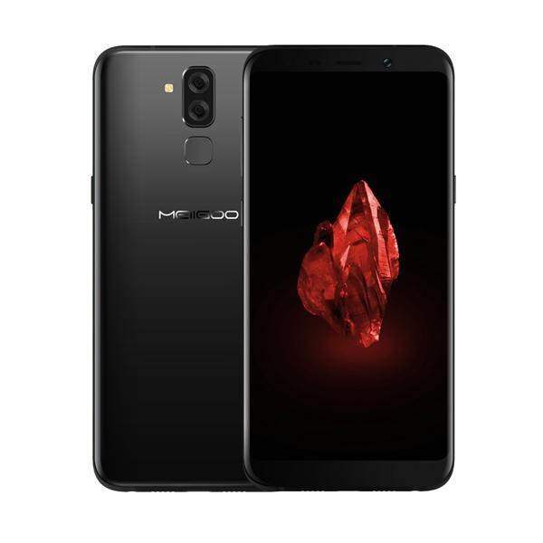 Meiigoo S8 MTK6750T 1.5GHz 8コア BLACK(ブラック)