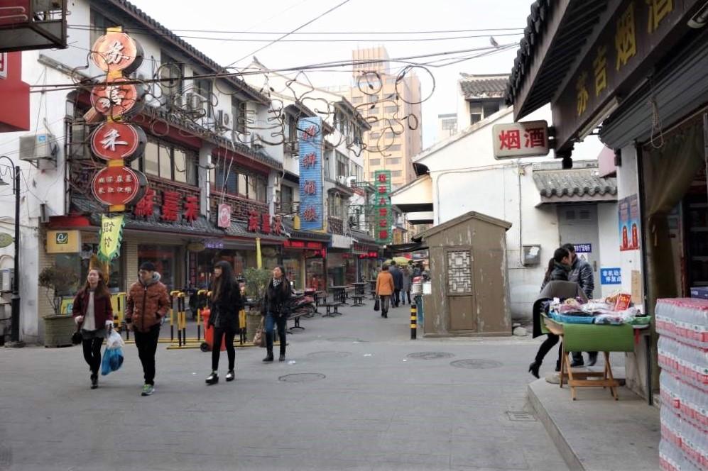 蘇州の繁華街