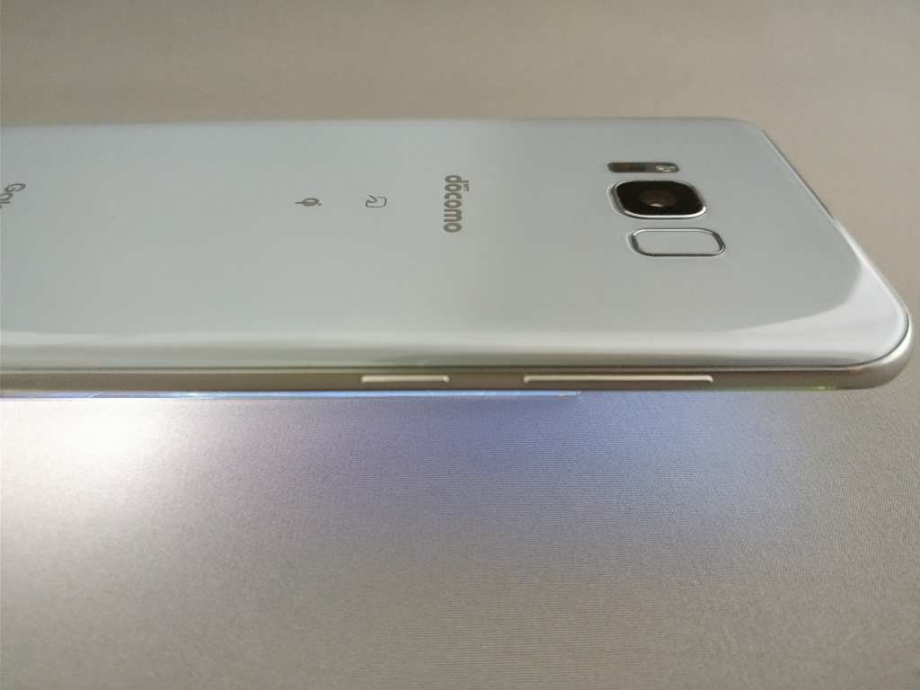 Galaxy S8+ 裏 横2