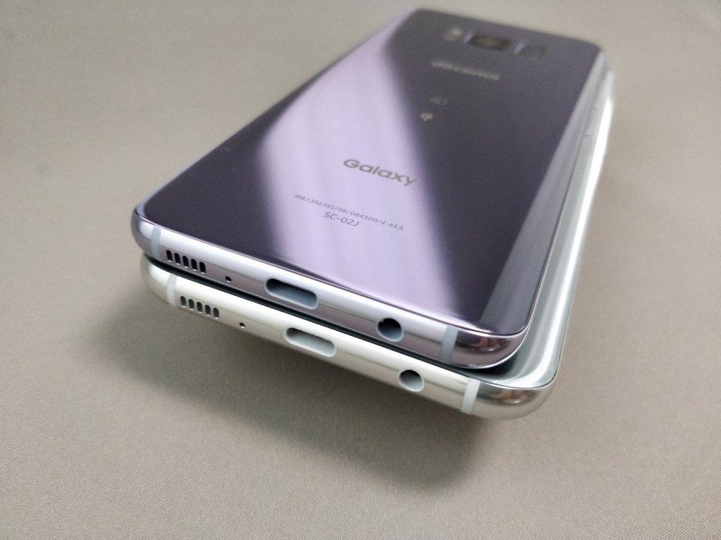 Galaxy S8 VS Galaxy S8+4