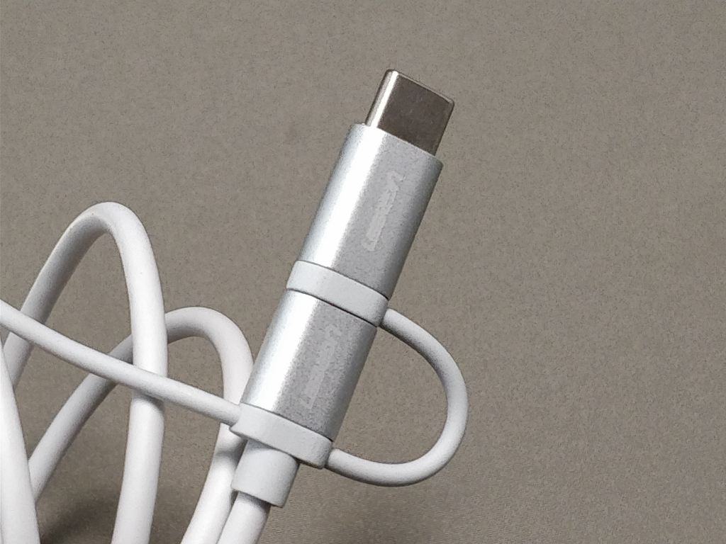 UGREEN 3 in 1 Type C ケーブル USB-C