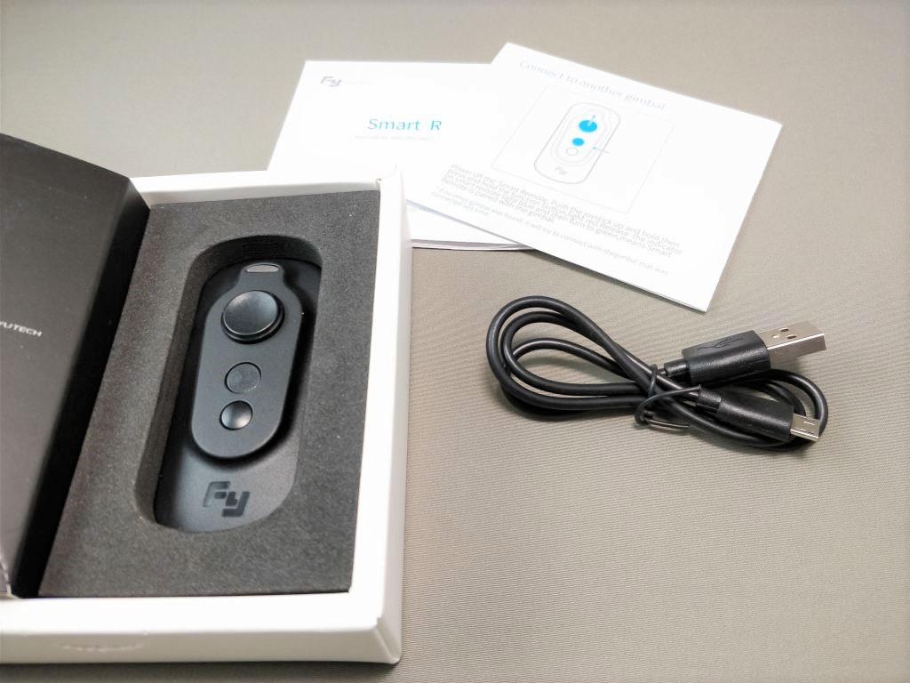 FeiyuTech WG2 化粧箱 リモコン USBケーブル