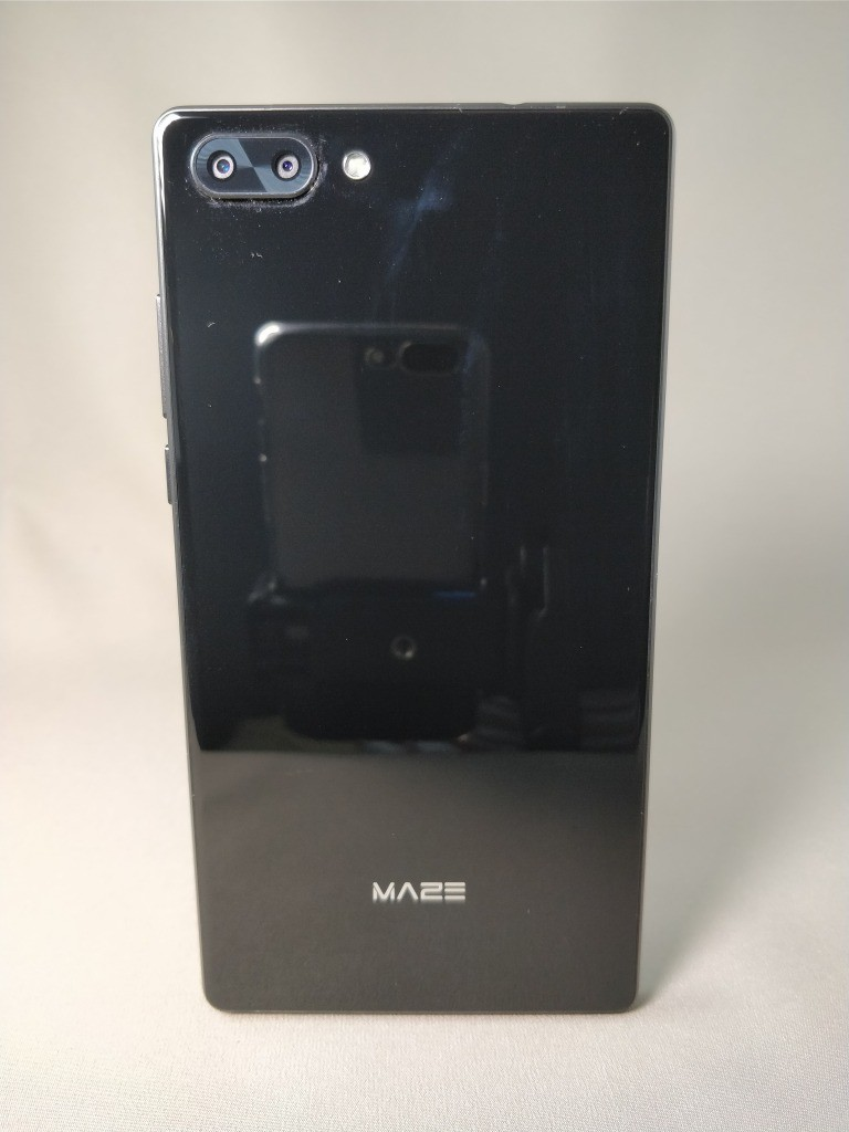 MAZE Alpha レビュー デュアルカメラとベンチマーク SIMフリー 6インチ三方狭小ベゼル ミッドレンジ中華スマホ
