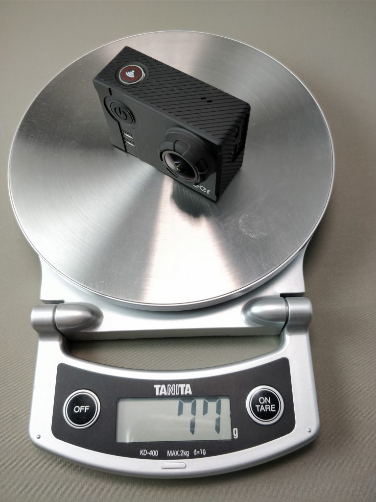 Andoer AN7000 アクションカメラ 77G