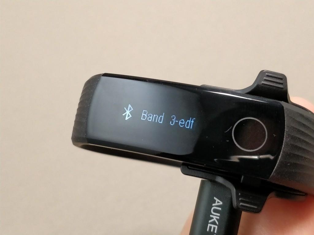 Huawei Honor Band 3 BT接続