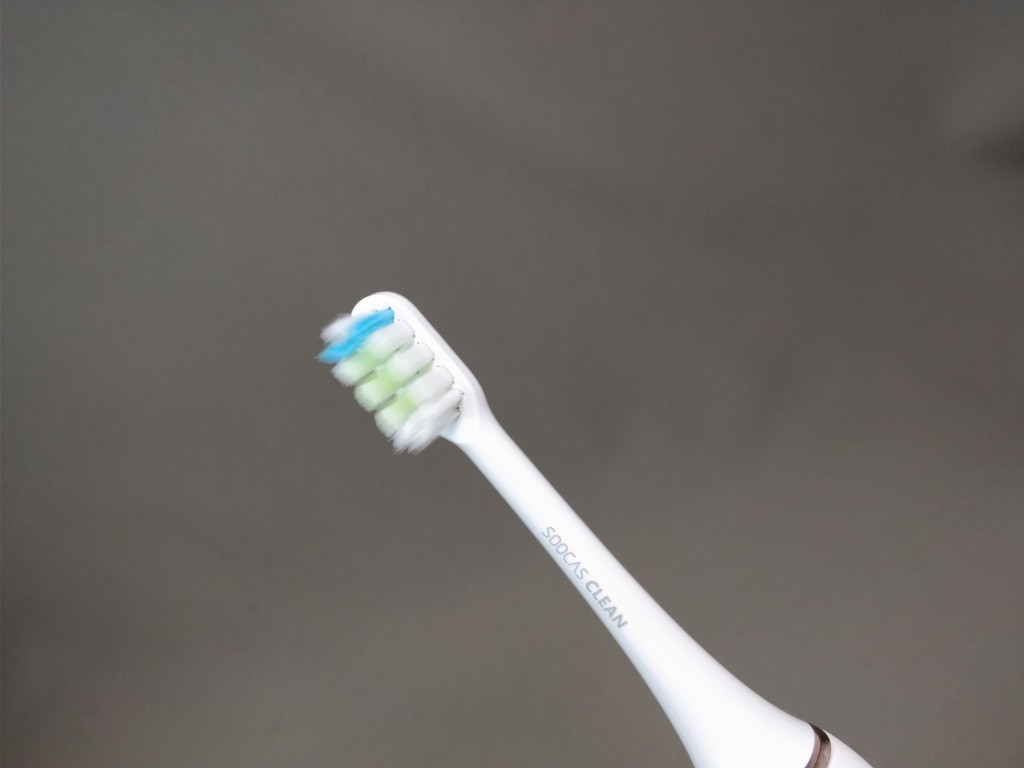 Xiaomi Soocas X3 電動歯ブラシ 歯ブラシ装着