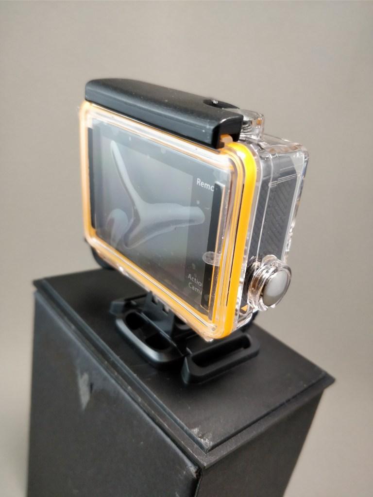 EKEN H8s 4K アクションカメラ 化粧箱 出す 裏