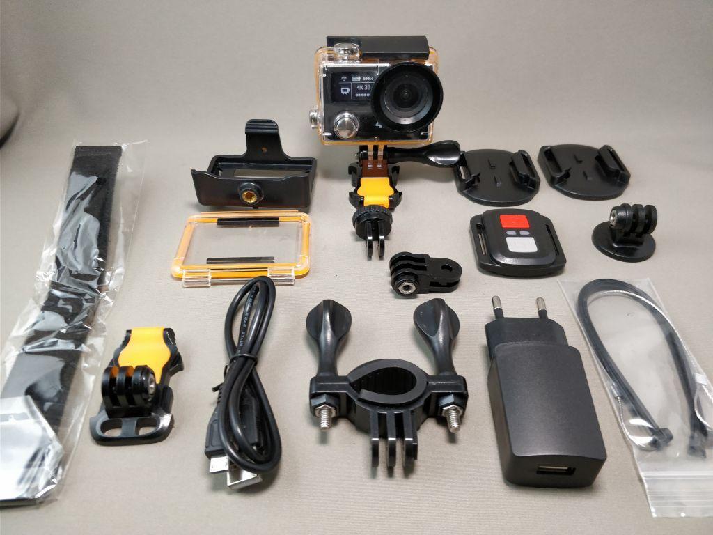 EKEN H8s 4K アクションカメラ セット