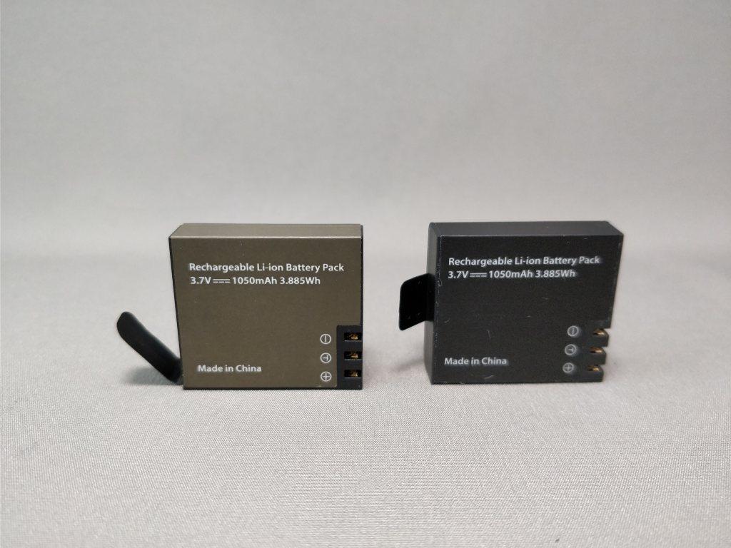EKEN H8s 4K アクションカメラ 予備バッテリー