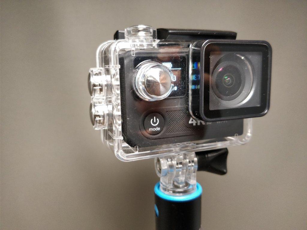 EKEN H8s 4K アクションカメラ 防水ハウジング Andoer AN7000