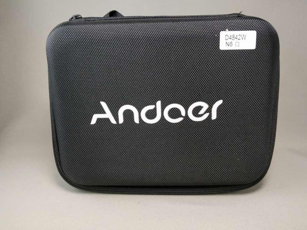 Andoer 4K タッチパネル式 アクションカメラ AN1 専用ケース