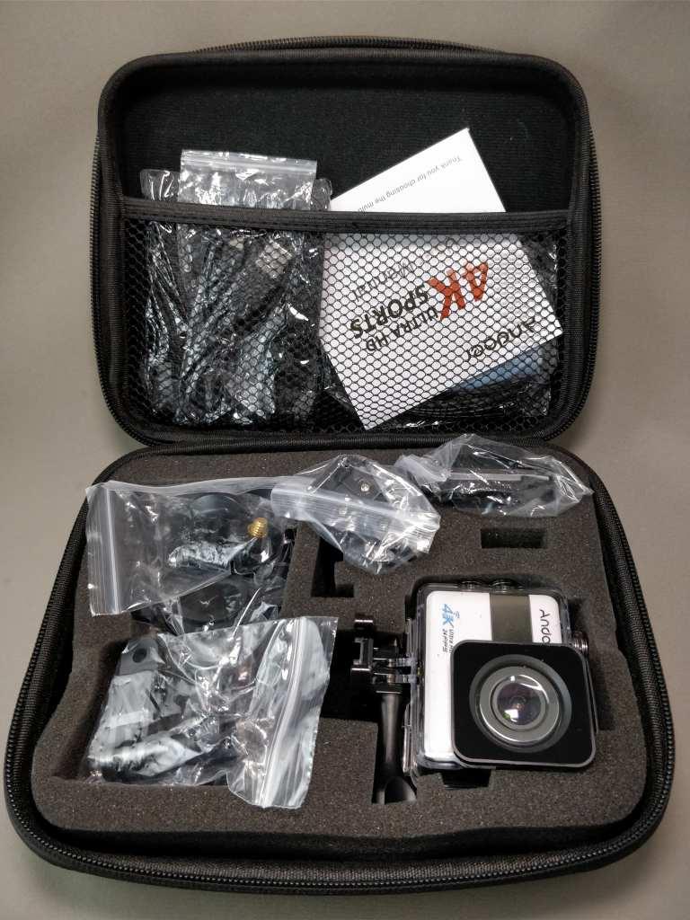 Andoer 4K タッチパネル式 アクションカメラ AN1 開封2