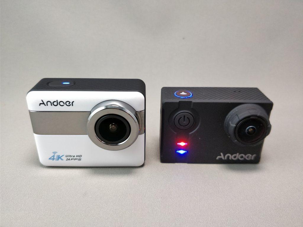 Andoer 4K タッチパネル式 アクションカメラ AN1 本体 AN7000比較 表