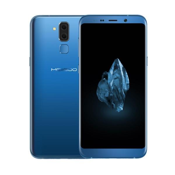 Meiigoo S8 MTK6750T 1.5GHz 8コア BLUE(ブルー)