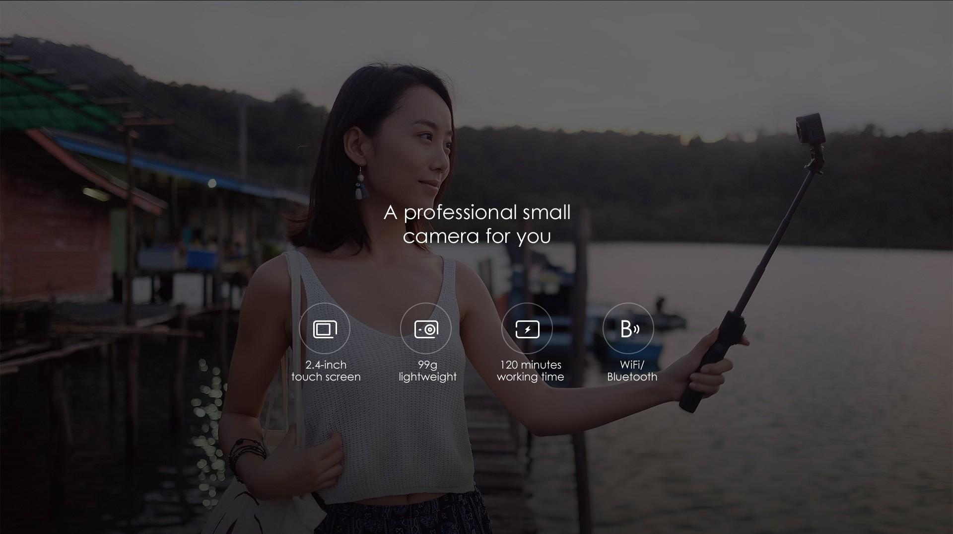 Xiaomi Mijia Camera Mini 4K 30fps Action Camera 商品画像4