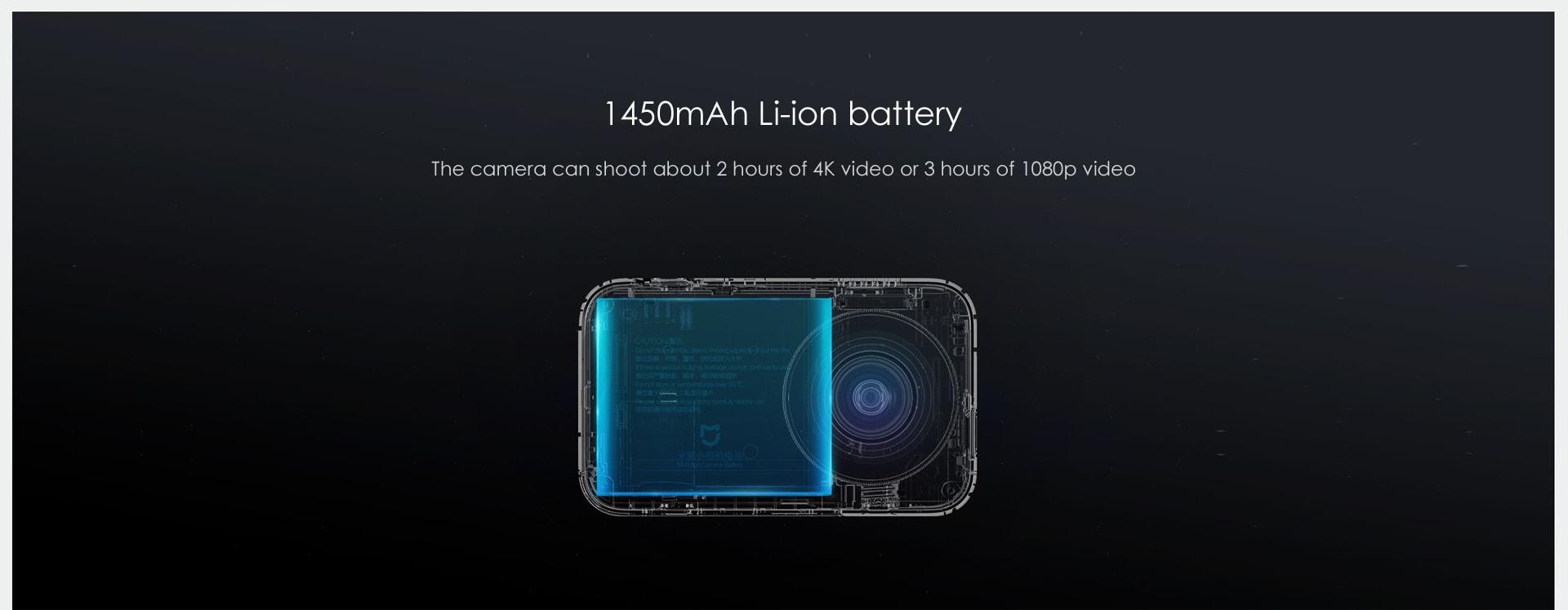 Xiaomi Mijia Camera Mini 4K 30fps Action Camera 商品画像12