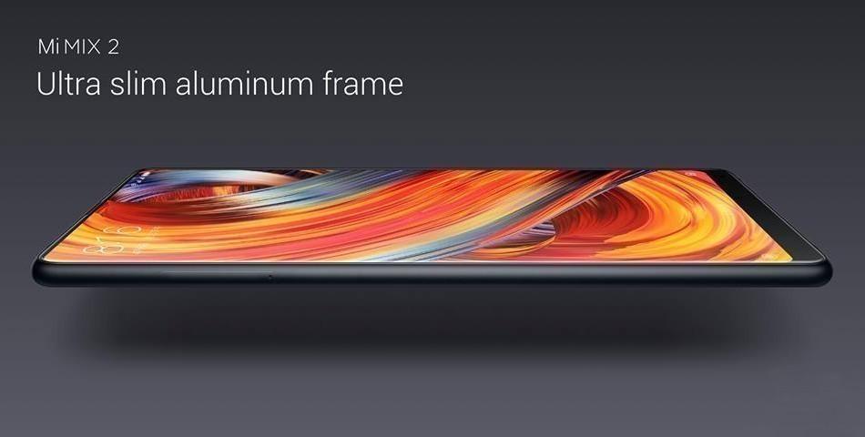 Xiaomi Mi MIX 2  アルミニウムフレーム