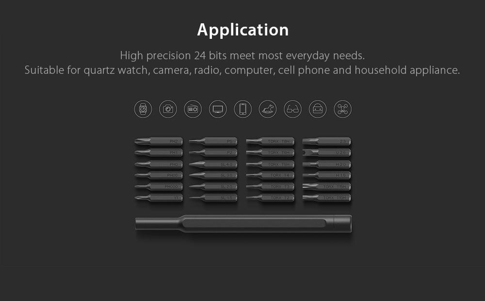 Xiaomi Wiha 24 in 1 精密ドライバー キット 4