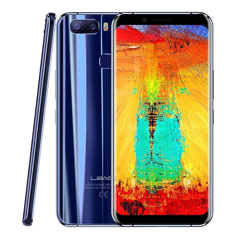 LEAGOO S8 Pro MTK6757T Helio P25 2.5GHz 8コア BLUE(ブルー)