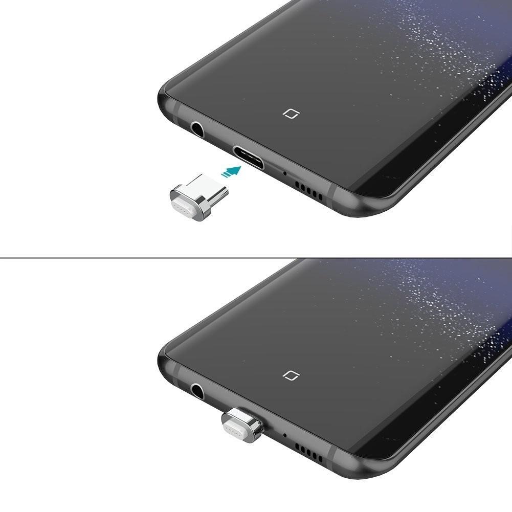 USB Type-C 磁力吸着 着脱式コネクタ&ケーブル コネクタ2