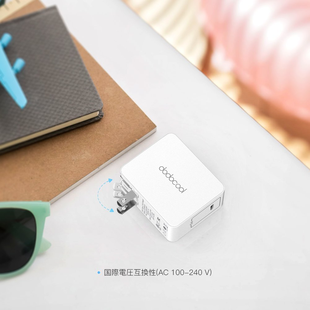 dodocool USB Type-Cアダプタ コンセント