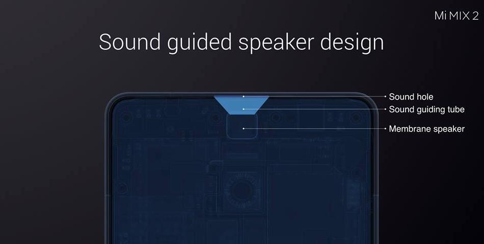 Xiaomi Mi MIX 2  サウンド