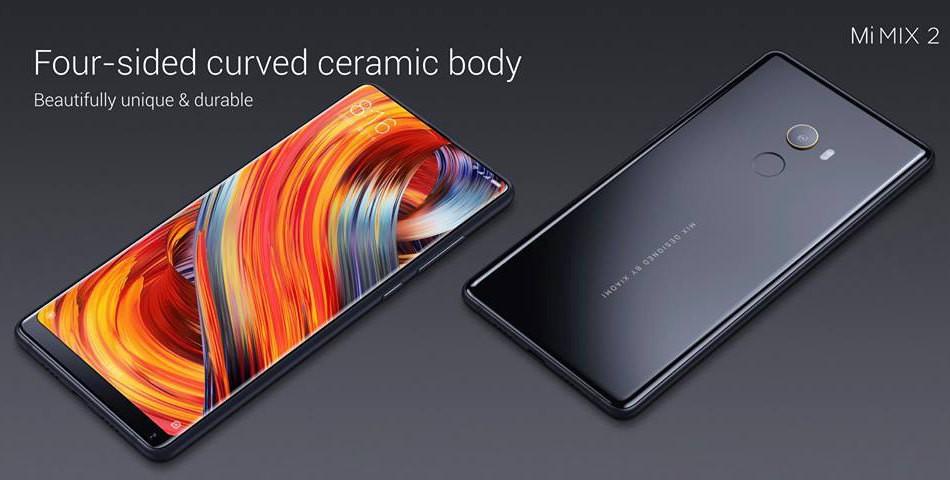 Xiaomi Mi MIX 2 セラミック ボディ