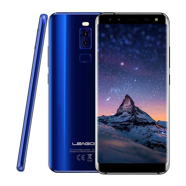 LEAGOO S8 MTK6750T 1.5GHz 8コア BLUE(ブルー)