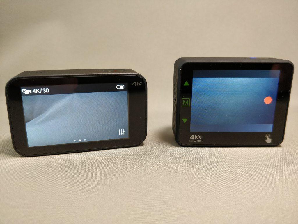 Xiaomi Mijia Camera Mini アクションカメラ Andoer AN1 比較 裏2