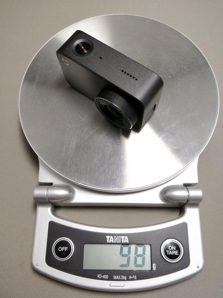 Xiaomi Mijia Camera Mini アクションカメラ  重量